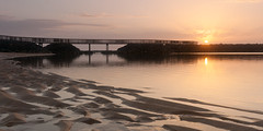 Fuerteventura Sunrise II (Duncan Herring) Tags: bridge sea holiday beach sunrise sand fuerteventura places ripples laisla