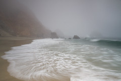 Point Reyes National Seashore (markvcr) Tags: ocean california sea mist beach fog rocks day waves shoreline wave shore pointreyes drakes