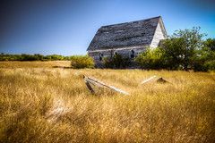 Sleep (Wayne Stadler Photography) Tags: old house canada abandoned home field rural countryside wooden village decay empty ghost ghosttown weathered homestead saskatchewan prairies derelict remains wrecked neidpath