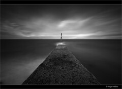 Cockenzie Jetty Revisited (Explored Dec 22nd 2013) (Dougie Williams) Tags: longexposure blackandwhite black landscape mono landscapes edinburgh seascapes williams landing explore lee 5d 1740mm dougie stopper exposures eastlothian longexposures cockenzie bythesea explored blackwhitephotos 5dmkii bigstopper nd10stop leebigstopper landscapephotographymagazine dougiewilliams cockenzi