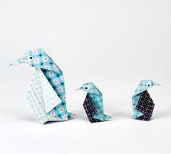 pinguinOrigami création - Didier Boursin - Pingouin