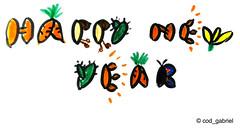 Happy New Year! (cod_gabriel) Tags: drawing newyear dessin konst newyearseve dibujo greetingcard greeting desenho disegno happynewyear zeichnung newyearcard tekening 2014  teckning rajz anulnou   desen menggambar felicitare newyeargreeting happynewyearcard  newyeargreetingcard lamuliani   happynewyear2014