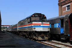 AMTK 406 (GLC 392) Tags: heritage ns amtrak spencer 406 f40ph
