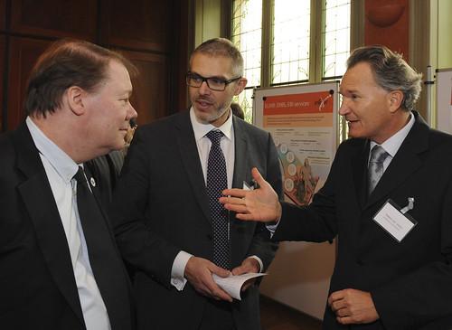 Robert-Jan Smits, Soren Brunak and Niklas Blomberg