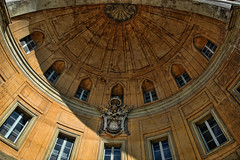 vatican (stevefge) Tags: vatican rome buildings dome italy shield travel