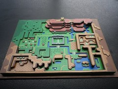 Zelda diorama (Wuppes3000) Tags: game classic paper video 3d map games retro nostalgia link zelda 8bit past diorama papercraft retrogaming wuppes uploaded:by=flickrmobile flickriosapp:filter=nofilter
