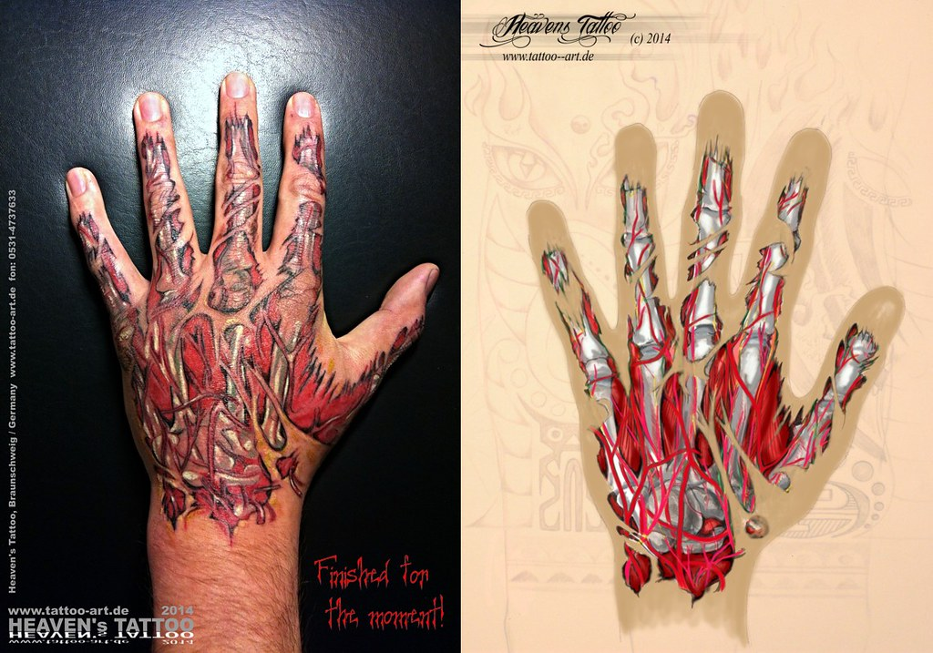 The world 39 s best photos of finger and wound flickr hive mind for Flesh wound tattoo