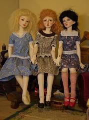 Best Friends (Xiaoli2004) Tags: anna lucy amy yo isabel bjd 13 lucille soi dollstown merrymegdoll