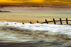 Stormforce Beauty (60,000 + views) (nalamanpics) Tags: sunset seascape beach nature water waves devon groynes groins breakingwaves dawlishwarren explored mygearandme mygearandmepremium mygearandmebronze mygearandmesilver mygearandmegold mygearandmeplatinum mygearandmediamond infinitexposure
