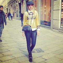 Solid Gold Lovebyn.com (1) (Love by N) Tags: travel italy black milan love sahara fashion shop gold design dress boots designer fashionshow runway aw fw fashionweek balenciaga mfw streetstyle pretaporter fashionblog wiwt ootd travelblogger fashionblogger milanweek lovebyn