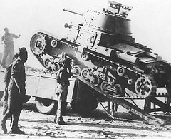 Italian FIAT M13/40 Not renown for their tank designs during WW2, this tank armed with a 47mm gun packed a considerable punch for it's time, however, even though it was soon to become outdated it remained in Italian service until the wars end