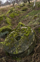 Grindstones (l4ts) Tags: landscape moss derwentvalley derbyshire peakdistrict surpriseview darkpeak hathersage grindstones bolehillquarry oxhaywood minoltaamount britnatparks