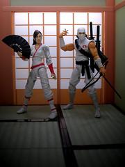 . (_silencer_) Tags: gijoe cobra ninja ninjas jinx stormshadow arashikageclan tommyarashikage kimarashikage