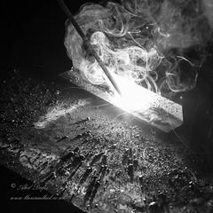 MMA Welding (aledafis) Tags: welding arc stick mma