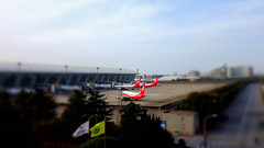 They're Red (AC02 Works) Tags: red sky cloud plane airplane airport shanghai aircraft aviation terminal aeroplane boeing  fm    737  737800 csh tiltshift  boeing737800 boeing737 737ng   pvg 738 pudonginternationalairport  shanghaiairlines skyteam shanghaipudonginternationalairport  boeing737ng   zspd shanghaiair skyteamalliance   737800   737 737ng