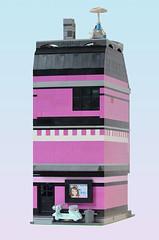 Pip - Back (Klikstyle) Tags: city building architecture town apartment lego modular salon creator