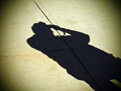 The Photographer's Shadow (Rachel_Ricci) Tags: shadow sun black photography mono photographer shadows dramatic olympus highlights photograph camer drama highlight amateurphotographer amateurphotography olympusem5