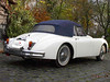 Jaguar XK 150 DHC von Sports Car Centre Garage NL Verdeck