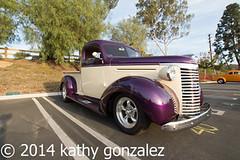 whittier_church2-5214 (tweaked.pixels) Tags: chevrolet truck whittier purpleandbeige pixelfixel tweakedpixels whittierareaclassiccarshow ©2014kathygonzalez whittiercommunitychurch