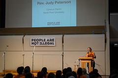 People Are Not Illegal Rally (bradleysiefert) Tags: urban chicago rally immigration npu northparkuniversity illegalimmigrants undocumented chicagonorthparkuniversitypeoplearenotillegalrallyimmigrationuniversityurbanillinoisunitedstatesgreen peoplearenotillegal