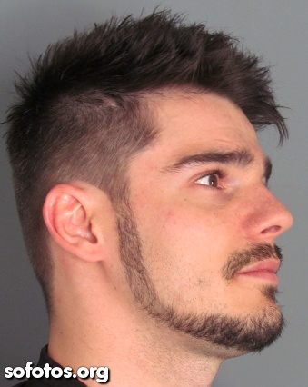 corte de cabelo undercut masculino