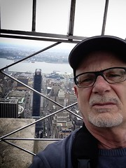 Selfie in New York on top of Empire State Building . . . by iPhone (starfishmoment) Tags: newyork empirestatebuilding starfishmoment