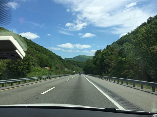 Driving through Virginia
