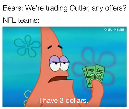 link►http://ift.tt/2mg6lrr, #bears: we're trading cutler, any offers? #nflteams: I have 3 #dollars