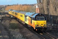 Class 67, 67023 (mike_j's photos) Tags: colas railfreight class67 67023 67027 networkrail swinton test