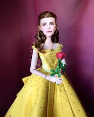 Emma Watson as Belle (Richard Zimmons) Tags: doll emma watson beautyandthebeast belle limited edition