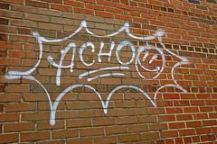 Achoo, New Orleans, LA (Robby Virus) Tags: neworleans louisiana la nola bigeasy achoo tag tagger graffiti wall