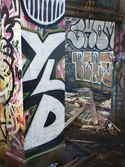 sgs27 (daily observer) Tags: abandonedtrainstation graffiti urbanruins philadelphia abandoned abandonedphiladelphia philadelphiagraffiti
