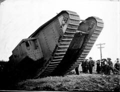 N_53_15_4880 Tank World War I (State Archives of North Carolina) Tags: tank armouredwarfare armoredwarfare tank9602 9602 markvtank mkvtank markvtankmale mkvtankmale maletank