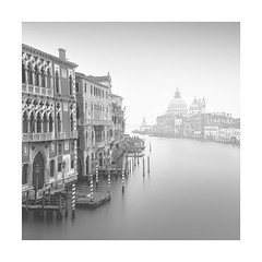 Take 50 (Nick green2012) Tags: venice square blackandwhite longexposure church mist shadows illume