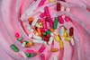 Cupcake (jeff's pixels) Tags: cupcake pink macro food dessert sprinks icing
