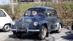 Renault 4CV 1953 (XBXG) Tags: 517dlm59 renault 4cv 1953 renault4cv 30ème salon des belles champenoises époque reims marne 51 grand est grandest champagne ardennes france frankrijk vintage old classic french car auto automobile voiture ancienne française vehicle outdoor