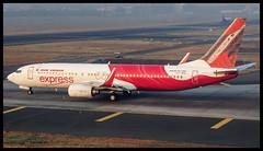 Air India Express B737-800 VT-AYC Mumbai (VABB/BOM) (Aiel) Tags: airindia airindiaexpress boeing b737 b737800 vtayc mumbai canon60d canon24105f4lis