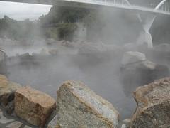 Aigües termals al Miño  a Ourense (peresubiranajorba) Tags: ourense galícia terma miño espanya