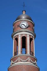 Harriettstown Town Hall Clock (jschumacher) Tags: newyorkstate saranaclake saranaclakenewyork upstate adirondacks