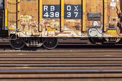 (o texano) Tags: houston texas graffiti trains freights bench benching worms nbk a2m adikts
