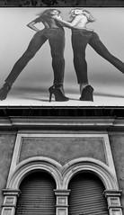 Bifore (drugodragodiego) Tags: brescia lombardia italy cities city town architecture publicity blackandwhite blackwhite bw biancoenero models moda fujifilm fujifilmx30