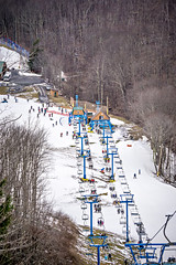 busy skiing season at a winter place ski resort (DigiDreamGrafix.com) Tags: ski skiresort fluorescentlight snowhouse white blue sky christmas greeting holiday celebrate season relaxation sunlight sun water tree frame rustic river landscape peace quiet trees mist snow winter year fog pine house relax home forest mountains recreation vacation map mask place wonderland places alpine ultimate winterplace wv westvirginia