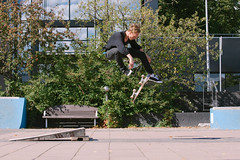 June - 360flip (Juha Helosuo) Tags: skateboarding finland turku canon nordic digital photography street 360flip skateboard action jonathan sjöberg june summer trip road color skate style jhelosuo jhelosuocom