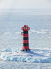 The Marhällan Lighthouse Åland (Franz Airiman) Tags: galaxy siljaline cruise kryssning boat ship fartyg ferry färja finlandsfärja finland winter vinter snö snow is ice åland marhällan östersjön ålandshav baltic lighthouse fyr
