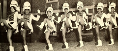 Majorettes (~ Lone Wadi ~) Tags: ladies uniforms teamspirit majorettes retro 1960s