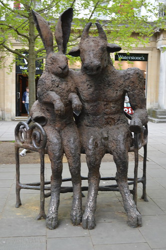 112/365 - The Minotaur and the Hare, in Cheltenham #1