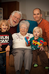4 Generations (pasta e broccoli) Tags: travel grandma max wisconsin superior xavier bubbe isabell maxence jft