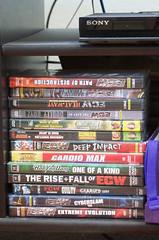 Wrestling DVDs (earthdog) Tags: word dvd nikon wrestling ecw prowrestling 2013 afsdxvrzoomnikkor1855mmf3556g d5100 nikond5100