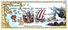 Lot 93_61 (indianthematicsociety) Tags: islands stamps ships viking voyages faroa philatelyminiaturesheetssheetlets