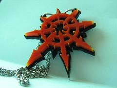 Chaos Undivided (krzysztoftomczak1) Tags: star acrylic chaos warhammer jewelery